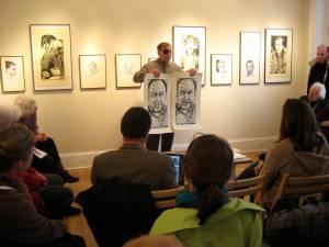 Max-Karl giving his talk