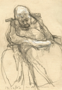 Newman drawing, Sleeping Patient