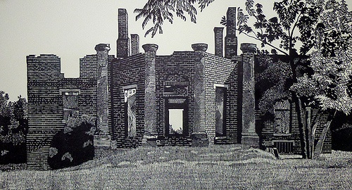 """Barboursville Ruins"" by M. Alexander Gray"